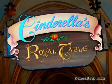 Cinderella's Royal Table Lunch