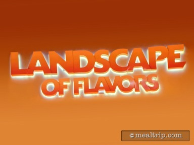 Landscape of Flavors - Lunch and Dinner Reviews