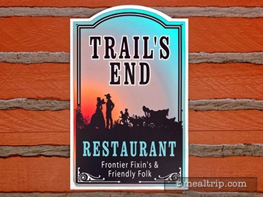 Trail's End Restaurant Dinner