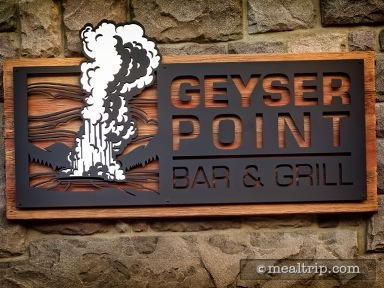 Geyser Point Grill Lunch & Dinner