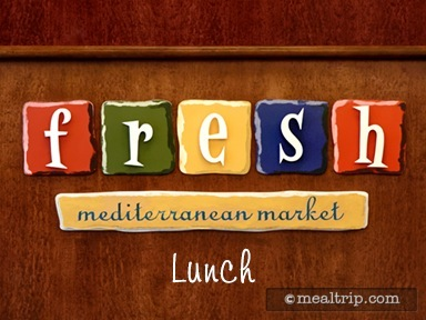 Fresh Mediterranean Market Lunch Reviews