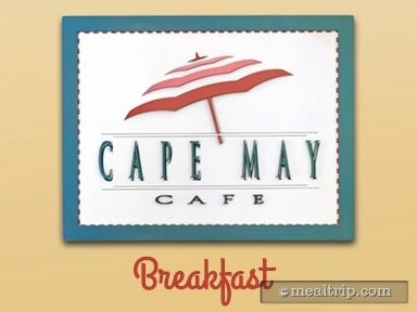 Cape May Cafe Breakfast