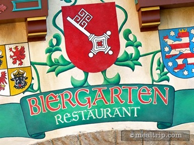 Biergarten Restaurant Lunch